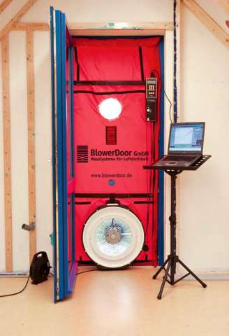 Blower Door Teststandblowerdoor, Immobilien