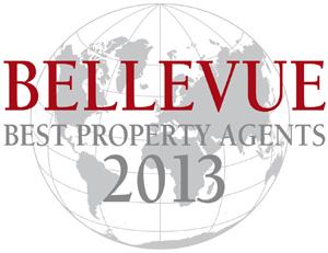 Ausgezeichnet als Best Property Agent von BELLEVUE, Europas größtem Immobilienmagazin