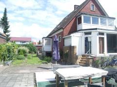 Bild: Emden - freist. Zweifamilienhaus wohnen plus gewerblicher Nutzung - großer Garten
