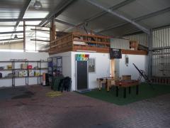 Bild: Apen - neuwertiger Bungalow (Niedrig-Energiehaus) mit kleiner Betriebshalle ....